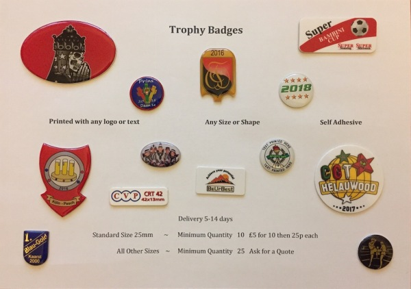 Badges Trophies Perth Dundee