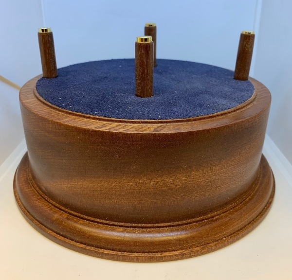 Wood Base Hand Turned Perth Dundee